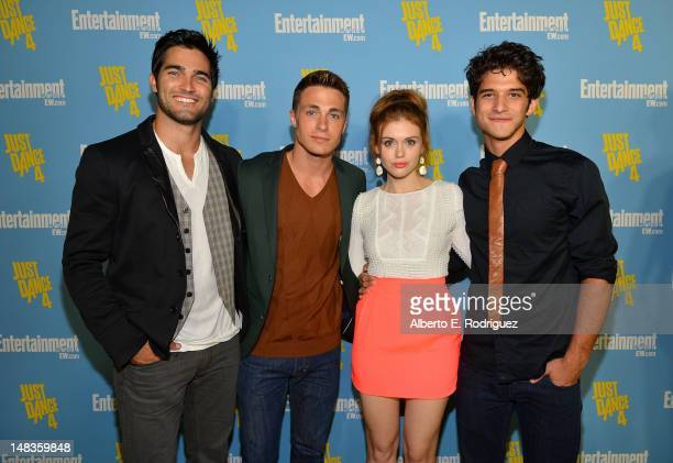 Actors Tyler Hoechlin Colton Haynes Holland Roden and Tyler Posey attend Entertainment Weekly's 6th Annual ComicCon Celebration sponsored by Just...