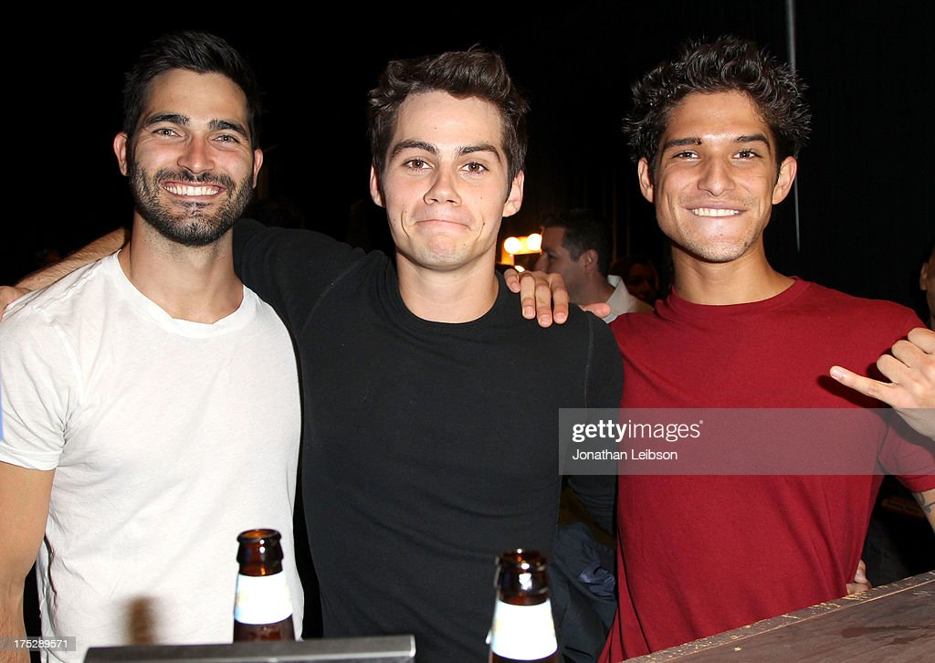 Actors Tyler Hoechlin, Dylan O'Brien and Tyler Posey attend CW Network's 2013 Young Hollywood Awards presented by Crest 3D White and SodaStream held at The Broad Stage on August 1, 2013 in Santa Monica, California.