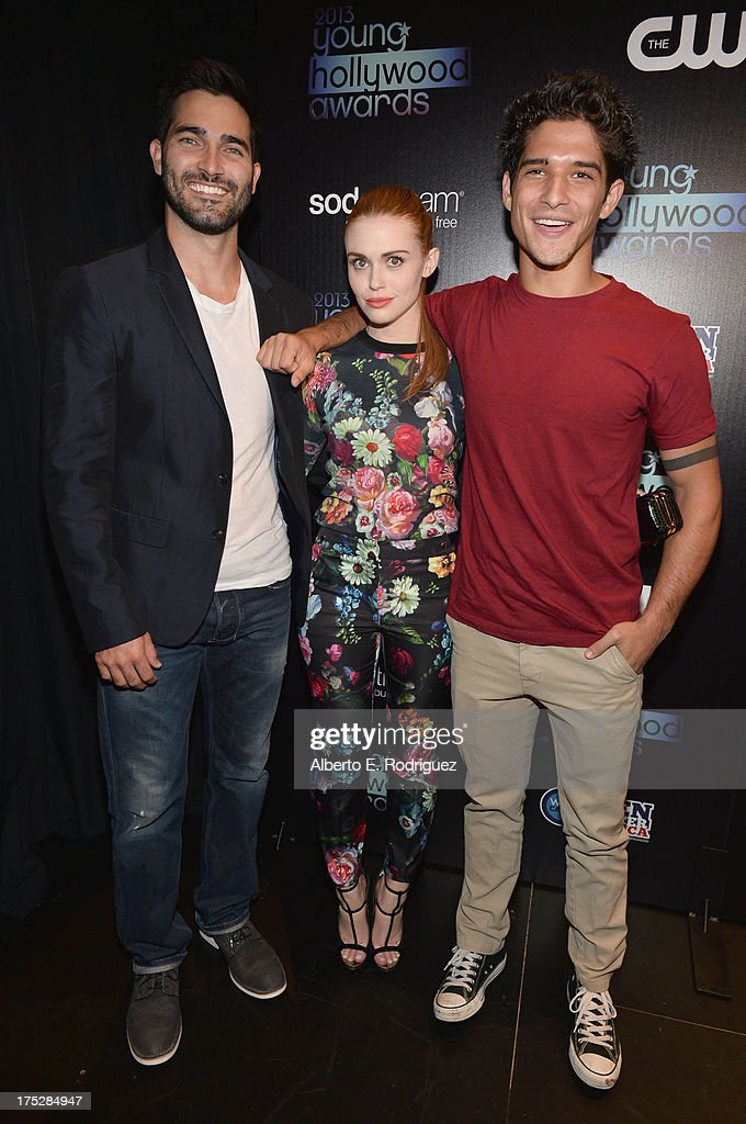 Actors Tyler Hoechlin, Holland Roden, and Tyler Posey attend CW Network's 2013 Young Hollywood Awards presented by Crest 3D White and SodaStream held at The Broad Stage on August 1, 2013 in Santa Monica, California.