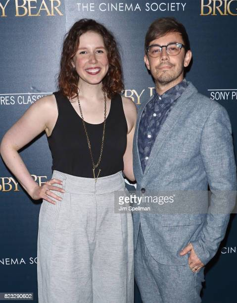 Actors Vanessa Bayer and Jorma Taccone attend the screening of 'Brigsby Bear' hosted by Sony Pictures Classics and The Cinema Society at Landmark...