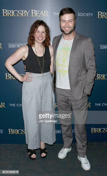 Actors Vanessa Bayer and Taran Killam attend the screening of 'Brigsby Bear' hosted by Sony Pictures Classics and The Cinema Society at Landmark...