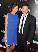 Actors Vanessa Lachey and Nick Lachey attend the Entertainment Weekly celebration honoring this year's SAG Awards nominees sponsored by TNT TBS and...