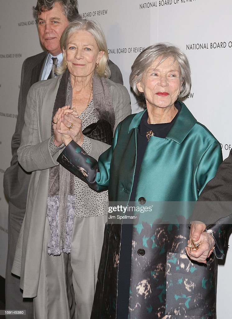 Actors Vanessa Redgrave and Emmanuelle Riva attends the 2013 National Board Of Review Awards Gala at Cipriani Wall Street on January 8, 2013 in New York City.