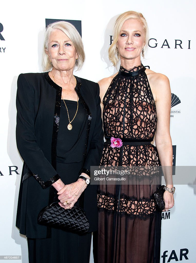 Actors <a gi-track='captionPersonalityLinkClicked' href=/galleries/search?phrase=Vanessa+Redgrave&family=editorial&specificpeople=169891 ng-click='$event.stopPropagation()'>Vanessa Redgrave</a> and <a gi-track='captionPersonalityLinkClicked' href=/galleries/search?phrase=Joely+Richardson&family=editorial&specificpeople=201859 ng-click='$event.stopPropagation()'>Joely Richardson</a> attend the 2014 amfAR New York Gala at Cipriani Wall Street on February 5, 2014 in New York City.
