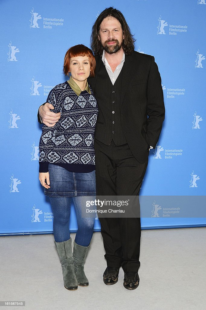 Actors Veerle Baetens and Johan Heldenbergh attend 'The Broken Circle Breakdown' Photocall during the 63rd Berlinale International Film Festival at the Grand Hyatt Hotel on February 12, 2013 in Berlin, Germany.
