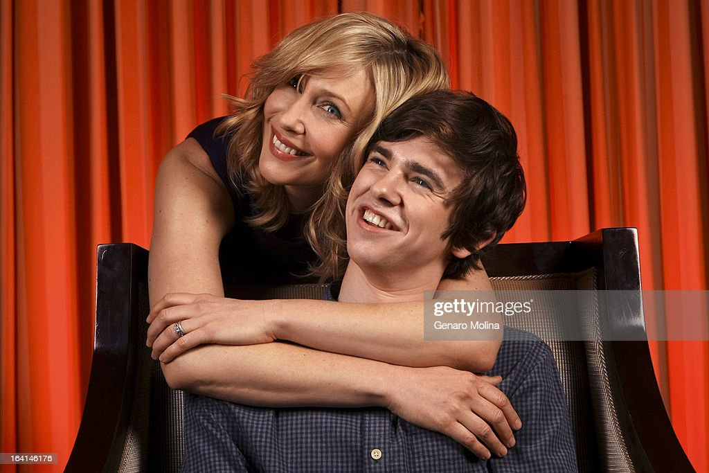 Actors Vera Farmiga and Freddie Highmore are photograhed for Los Angeles Times on March 12, 2013 in Beverly Hills, California. PUBLISHED IMAGE.