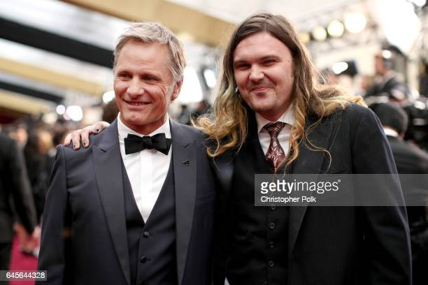 Actors Viggo Mortensen and Henry Mortensen attend the 89th Annual Academy Awards at Hollywood Highland Center on February 26 2017 in Hollywood...