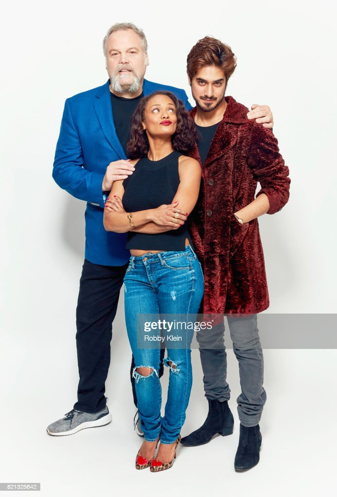Actors Vincent D'Onofrio, Kandyse McClure, and Avan Jogia from Syfy's 'Ghost Wars' pose for a portrait during Comic-Con 2017 at Hard Rock Hotel San Diego on July 23, 2017 in San Diego, California.