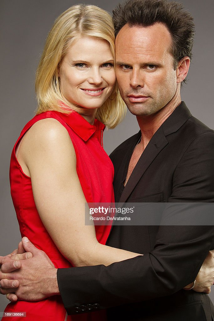 Walton Goggins and Joelle Carter, Los Angeles Times, May 16, 2013
