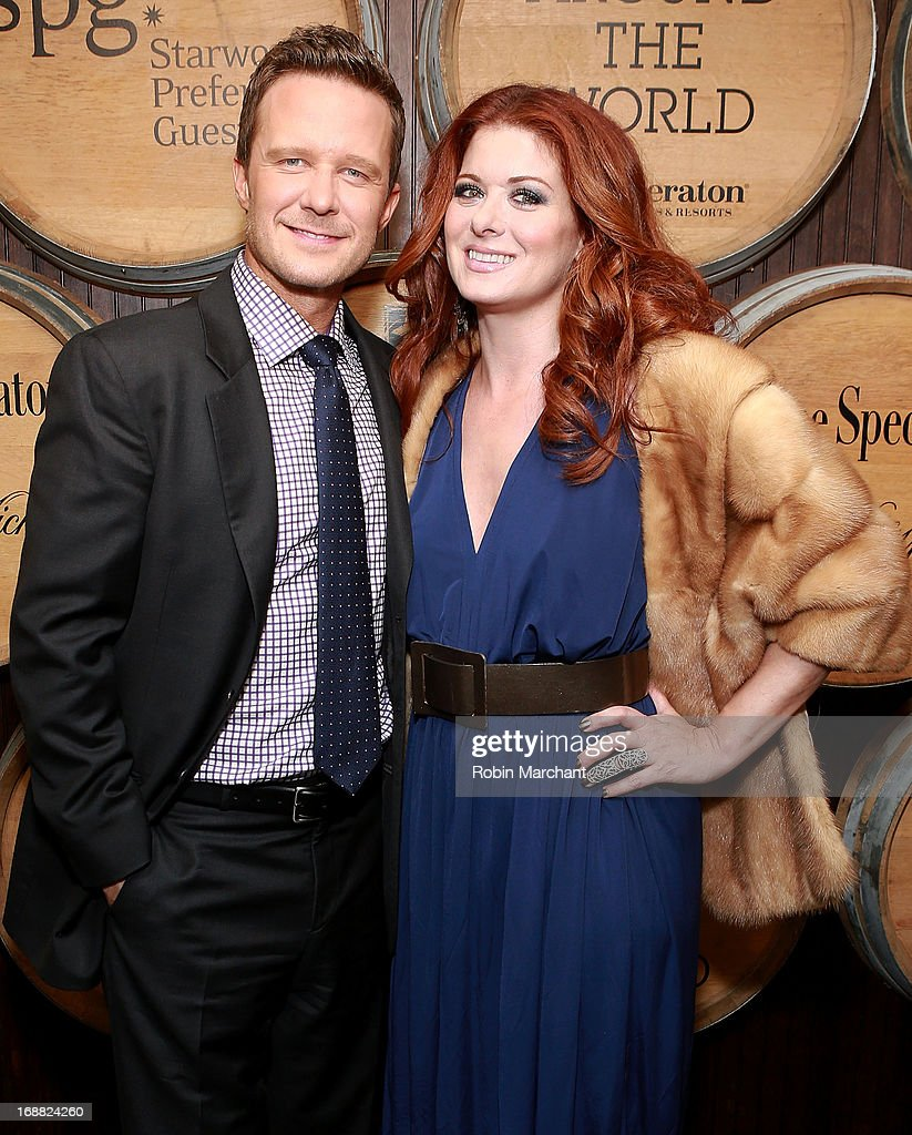 Actors Will Chase and Debra Messing attend 'Toast Around The World' Celebration at New York Sheraton Hotel & Tower on May 15, 2013 in New York City.