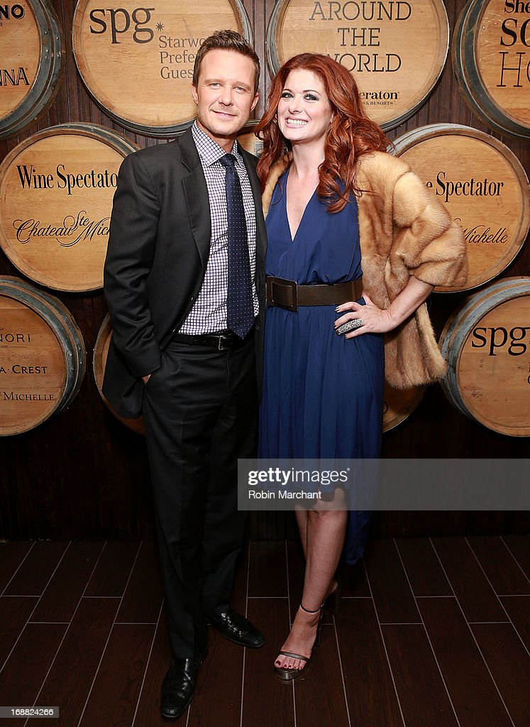 Actors Will Chase and <a gi-track='captionPersonalityLinkClicked' href=/galleries/search?phrase=Debra+Messing&family=editorial&specificpeople=202114 ng-click='$event.stopPropagation()'>Debra Messing</a> attend 'Toast Around The World' Celebration at New York Sheraton Hotel & Tower on May 15, 2013 in New York City.