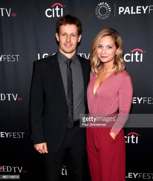 Actors Will Estes and Vanessa Ray attend PaleyFest NY 2017 'Blue Bloods' at The Paley Center for Media on October 16 2017 in New York City