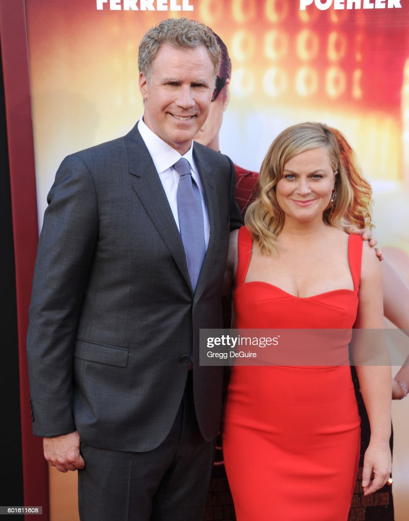 Actors Will Ferrell and Amy Poehler arrive at the premiere of Warner Bros. Pictures' 'The House' at TCL Chinese Theatre on June 26, 2017 in Hollywood, California.