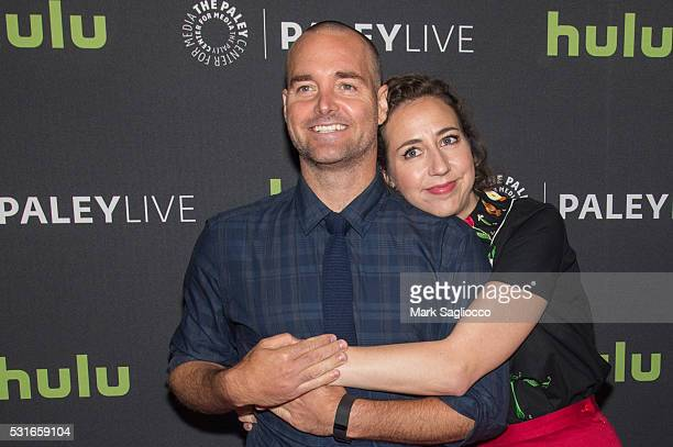 Actors Will Forte and Kristen Schaal attend The Paley Center For Media Presents PaleyLive NY 'The Last Man On Earth' at The Paley Center for Media on...