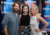 Actors Will Forte Kristen Schaal and January Jones attend SiriusXM's Entertainment Weekly Radio Channel Broadcasts From ComicCon 2015 at Hard Rock...