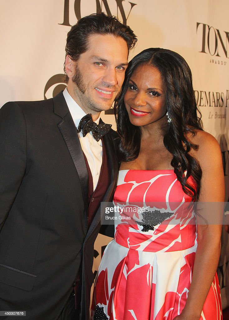 Actors Will Swenson and <a gi-track='captionPersonalityLinkClicked' href=/galleries/search?phrase=Audra+McDonald&family=editorial&specificpeople=212782 ng-click='$event.stopPropagation()'>Audra McDonald</a> attend the American Theatre Wing's 68th Annual Tony Awards at Radio City Music Hall on June 8, 2014 in New York City.