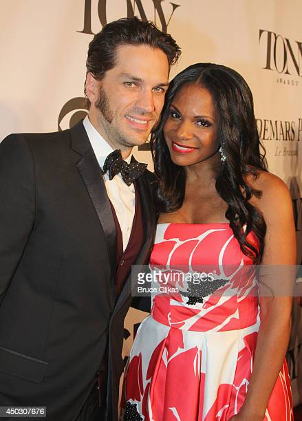 Actors Will Swenson and Audra McDonald attend the American Theatre Wing's 68th Annual Tony Awards at Radio City Music Hall on June 8 2014 in New York...