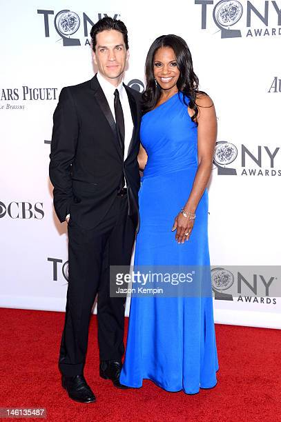 Actors Will Swenson and Audra McDonald attends the 66th Annual Tony Awards at The Beacon Theatre on June 10 2012 in New York City