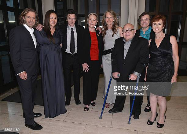 Actors William H Macy Moon Bloodgood John Hawkes Cheryl Cohen Greene Helen Hunt writer/director Ben Lewin Susan Fernbach and producer Judi Levin...