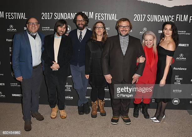 R Actors Willie Garson Jason Schwartzman Wallace Wolodarsky Maya Forbes Jack Black Jacki Weaver and Jenny Slate attend the 'The Polka King' Premiere...