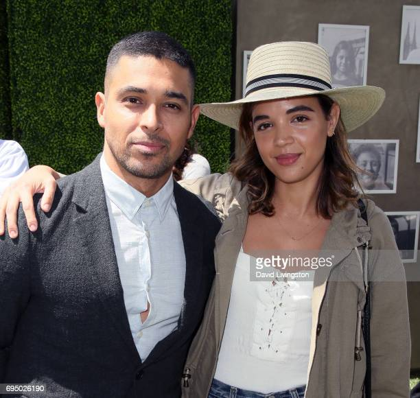 Actors Wilmer Valderrama and Georgie Flores attend Children Mending Hearts 9th Annual Empathy Rocks Fundraiser at a private residence on June 11 2017...