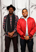 Actors Wood Harris and Mack Wild attend AOL Build Presents Mack Wild and Wood Harris 'The Breaks' at AOL Studios In New York on December 14 2015 in...
