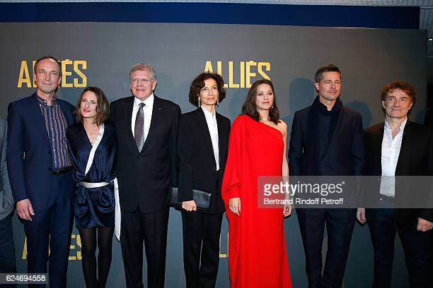 Actors Xavier de Guillebon Camille Cottin Director Robert Zemeckis French Minister of Culture and Communication Audrey Azoulay actors Marion...