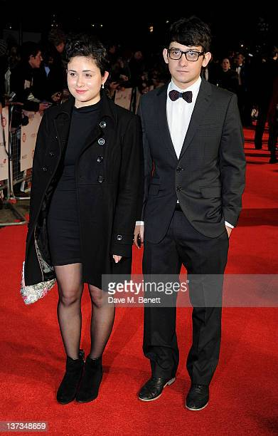 Actors Yasmin Paige and Craig Roberts attends the London Film Critics' Circle Awards 2012 at BFI Southbank on January 19 2012 in London England