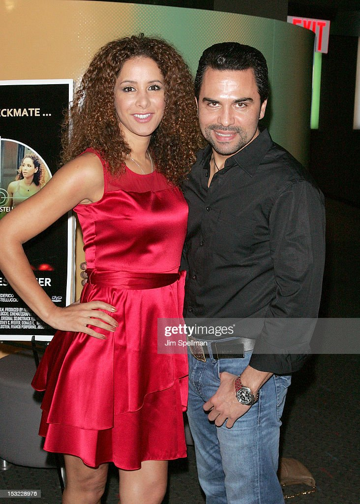 Actors Yvonne Maria Schaefer and Manny Perez attend the 'Keep Your Enemies Closer: Checkmate' screening at the School of Visual Arts Theater on October 1, 2012 in New York City.