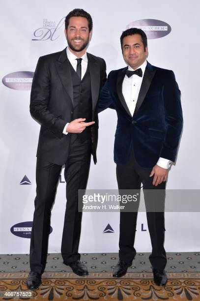 Actors Zachary Levi and Kal Penn attend The Drama League's 30th Annual Musical Celebration of Broadway honoring Neil Patrick Harris at The Pierre...