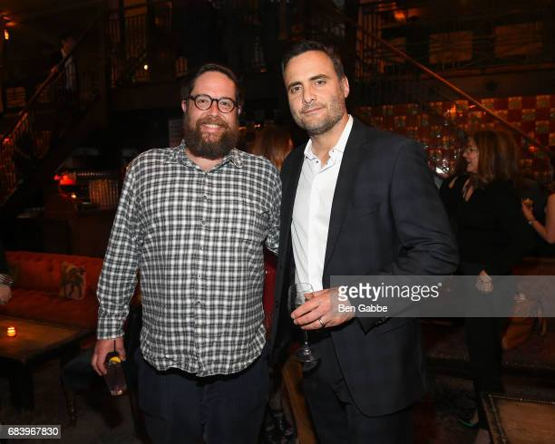 Actors Zak Orth and Dominic Fumusa attend the Gersh Upfronts Party at The Jane Hotel on May 16 2017 in New York City