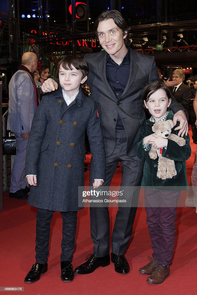 Actors Zen McGrath, <a gi-track='captionPersonalityLinkClicked' href=/galleries/search?phrase=Cillian+Murphy&family=editorial&specificpeople=224782 ng-click='$event.stopPropagation()'>Cillian Murphy</a> and Winta McGrath attend the 'Aloft' premiere during 64th Berlinale International Film Festival at Berlinale Palast on February 12, 2014 in Berlin, Germany.