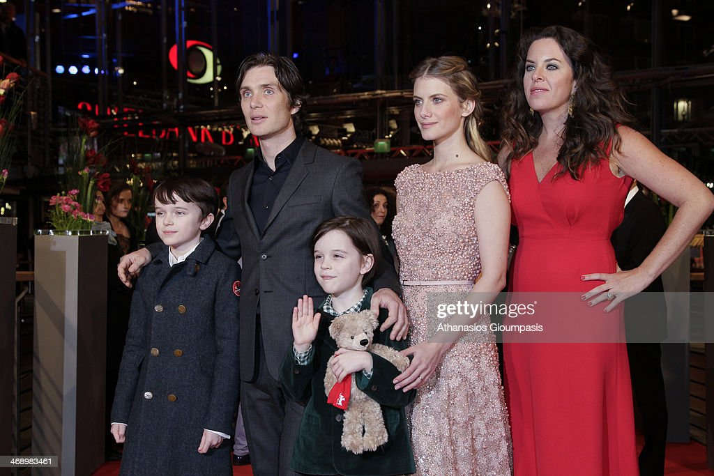 Actors Zen McGrath, <a gi-track='captionPersonalityLinkClicked' href=/galleries/search?phrase=Cillian+Murphy&family=editorial&specificpeople=224782 ng-click='$event.stopPropagation()'>Cillian Murphy</a>, Winta McGrath and <a gi-track='captionPersonalityLinkClicked' href=/galleries/search?phrase=Melanie+Laurent&family=editorial&specificpeople=2721978 ng-click='$event.stopPropagation()'>Melanie Laurent</a> and director <a gi-track='captionPersonalityLinkClicked' href=/galleries/search?phrase=Claudia+Llosa&family=editorial&specificpeople=651584 ng-click='$event.stopPropagation()'>Claudia Llosa</a> attend the 'Aloft' premiere during 64th Berlinale International Film Festival at Berlinale Palast on February 12, 2014 in Berlin, Germany.