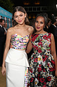 Actors Zendaya and Kerry Washington attend the premiere of HBO Films' 'Confirmation' at Paramount Theater on the Paramount Studios lot on March 31...
