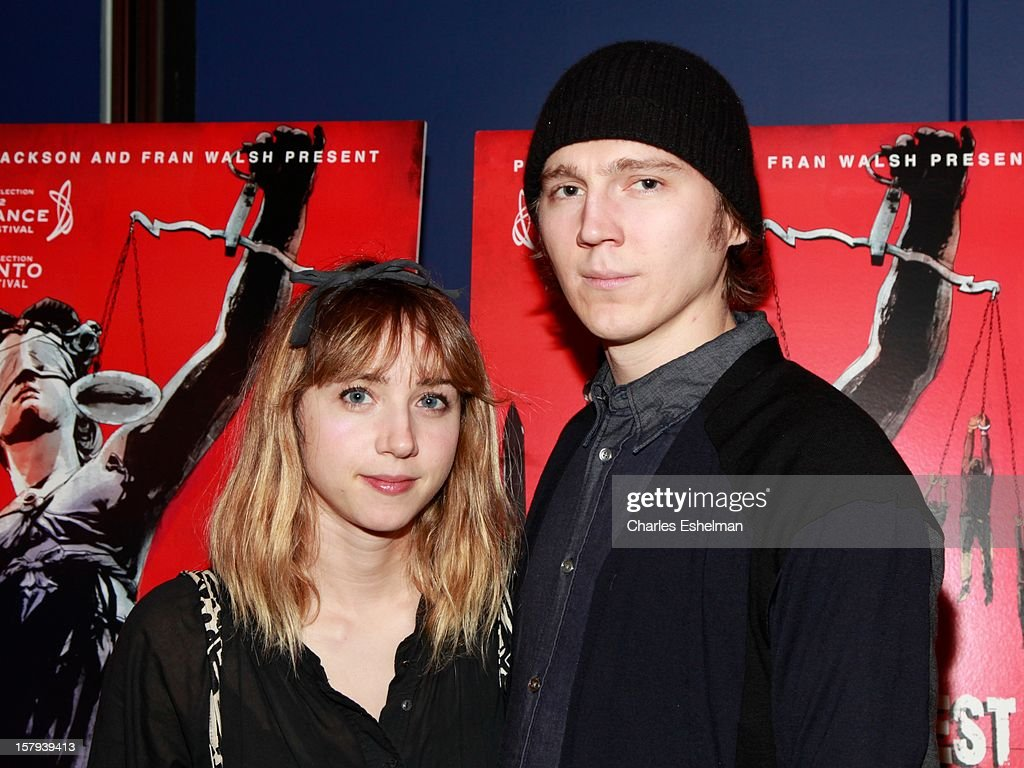 Actors Zoe Kazan and <a gi-track='captionPersonalityLinkClicked' href=/galleries/search?phrase=Paul+Dano&family=editorial&specificpeople=550442 ng-click='$event.stopPropagation()'>Paul Dano</a> attends the 'West Of Memphis' premiere at Florence Gould Hall on December 7, 2012 in New York City.
