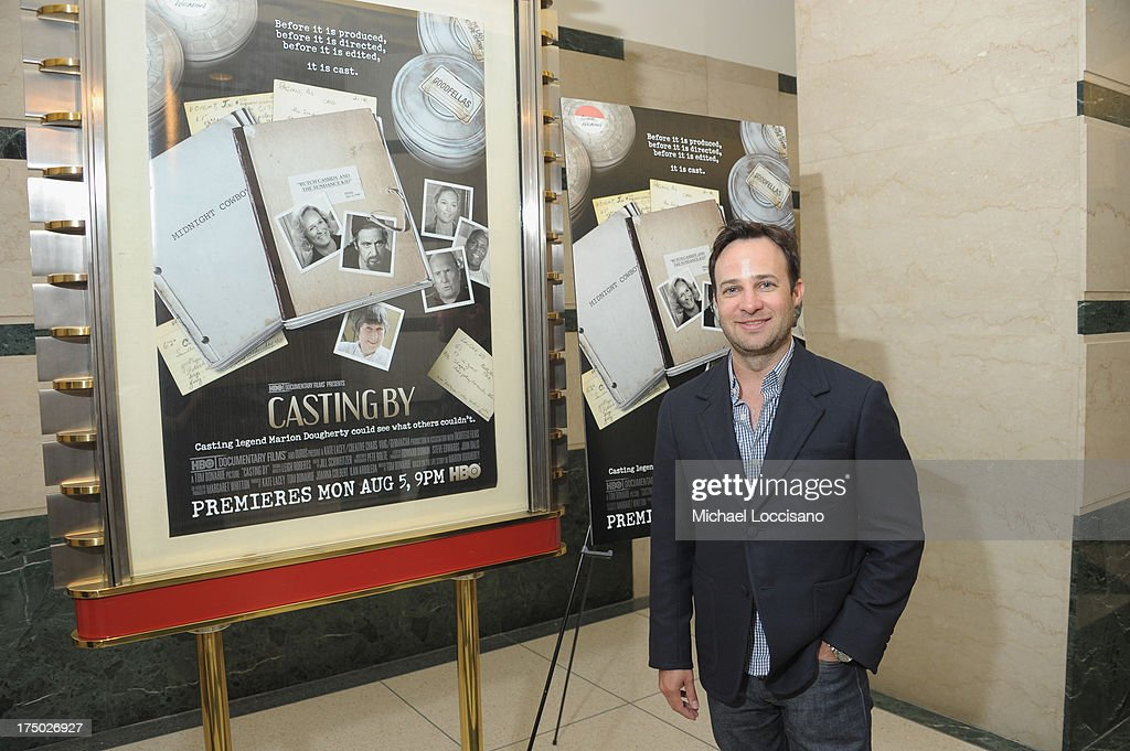 Actor/screenwriter Danny Strong attends the New York Premiere of HBO Documentary 'Casting By' at HBO Theater on July 29, 2013 in New York City.