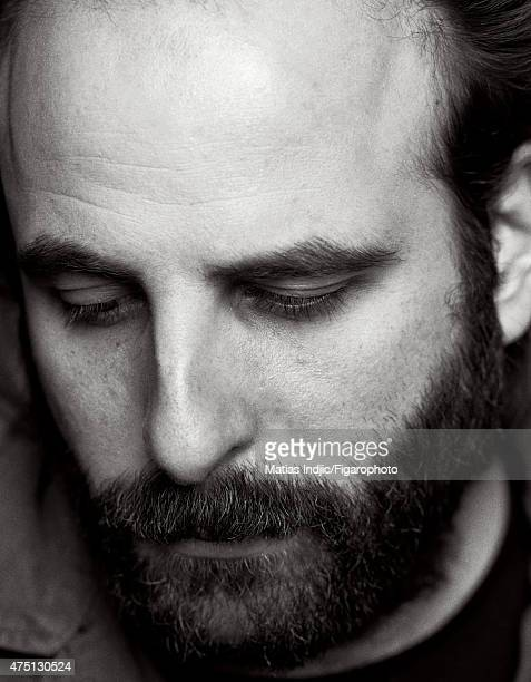 Actor/screenwriter Vincent Macaigne is photographed for Madame Figaro on January 17 2015 in Paris France Makeup by Givenchy Le Make Up CREDIT MUST...