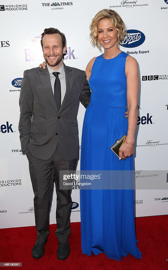 Actors/husband & wife <a gi-track='captionPersonalityLinkClicked' href=/galleries/search?phrase=Bodhi+Elfman&family=editorial&specificpeople=603597 ng-click='$event.stopPropagation()'>Bodhi Elfman</a> (L) and <a gi-track='captionPersonalityLinkClicked' href=/galleries/search?phrase=Jenna+Elfman&family=editorial&specificpeople=204782 ng-click='$event.stopPropagation()'>Jenna Elfman</a> attend the 8th Annual BritWeek Launch Party on April 22, 2014 in Los Angeles, California.