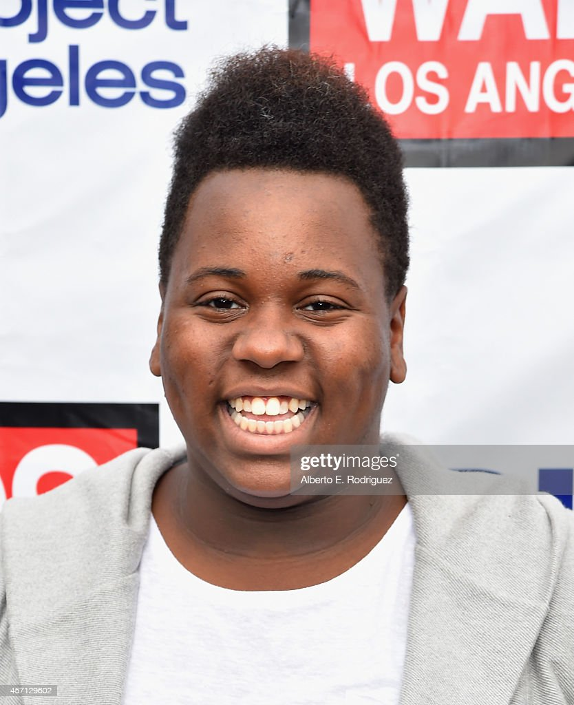 Actor/singer Alex Newell attends the 30th Annual AIDS Walk Los Angeles on October 12 2014 in West Hollywood California