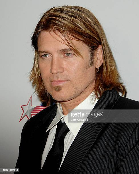 Actor/Singer Billy Ray Cyrus arrives at the '2007 Spirit Of Life Awards' at Pacific Design Center on September 27 2007 in West Hollywood California