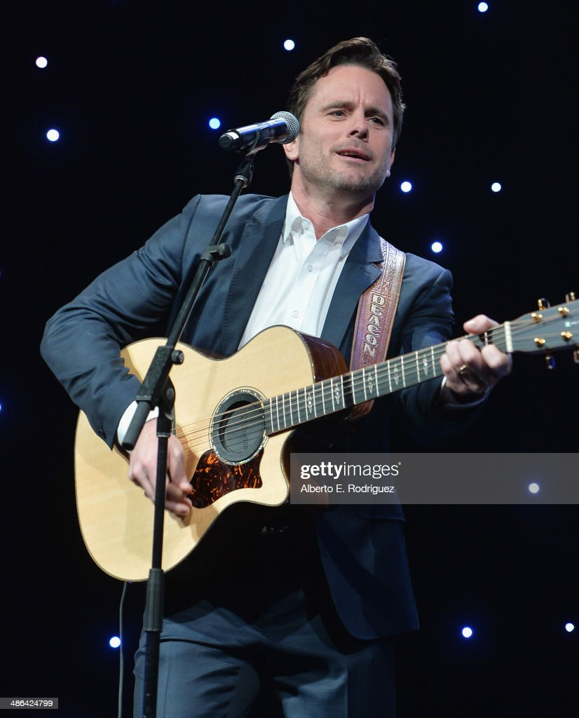 Actor/singer Charles Esten performs at The Help Group's 17th Annual Teddy Bear Ball at The Beverly Hilton Hotel on April 23, 2014 in Beverly Hills, California.