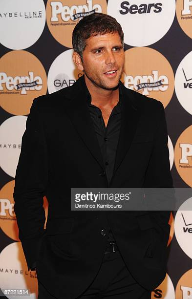 Actor/singer Christian Meier attends People En Espanol's '50 Most Beautiful' event at The Edison Ballroom on May 13 2009 in New York City
