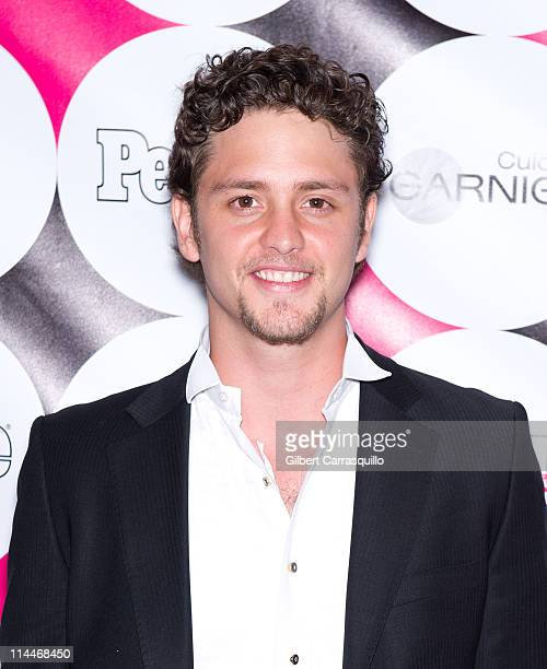 Actor/singer Christopher Von Uckermann attends the 15th annual People en Espanol '50 Most Beautiful' Issue Celebration at Guastavino's on May 19 2011...