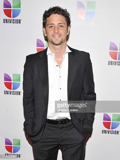 Actor/singer Christopher Von Uckermann attends Univision's Upfront reception featuring Hispanic America's Most Beloved Stars at The Edison Ballroom...