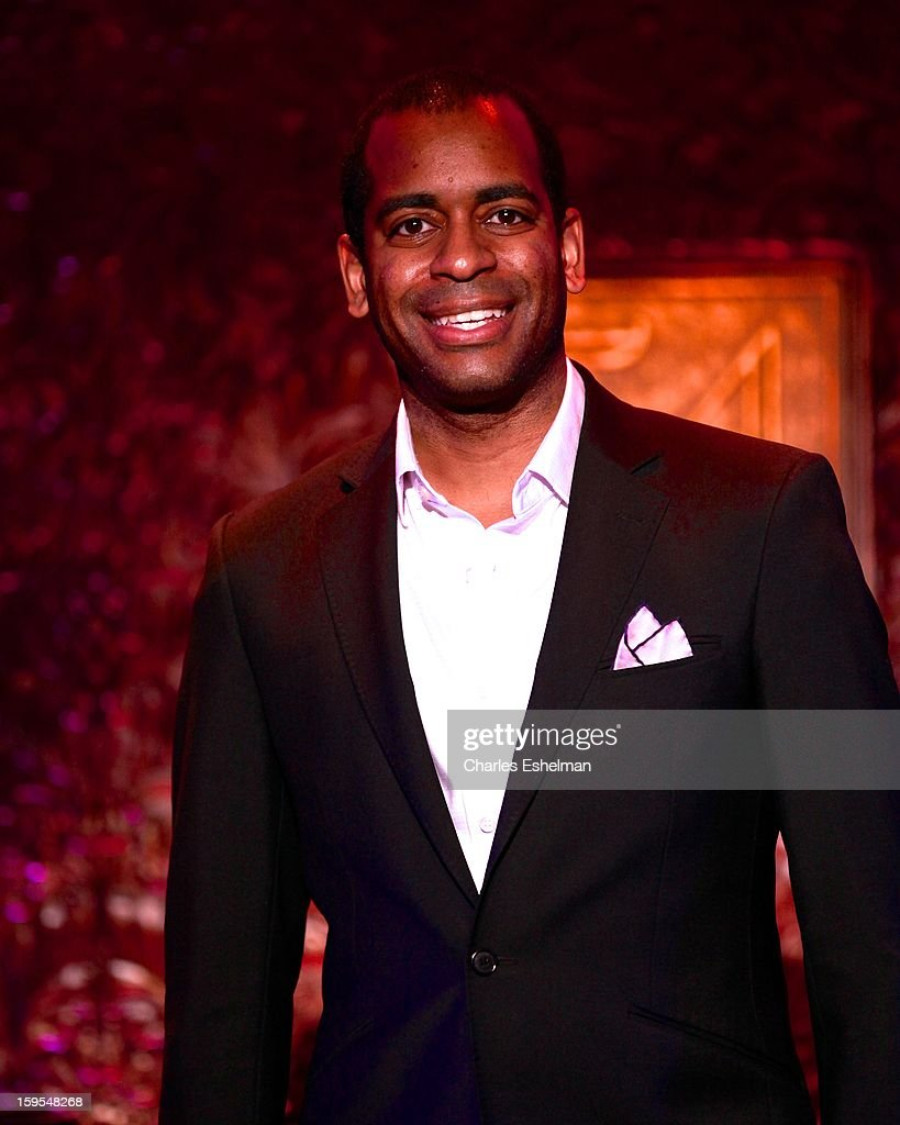 Actor/singer Daniel Breaker visits at 54 Below on January 15, 2013 in New York City.