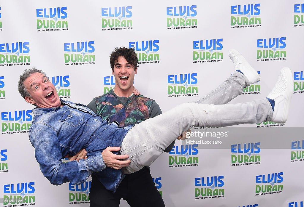 "Darren Criss Visits ""The Elvis Duran Z100 Morning Show"""