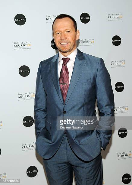 Actor/singer Donnie Wahlberg attends the Keurig 20 Launch PopUp Celebration on October 15 2014 in New York City