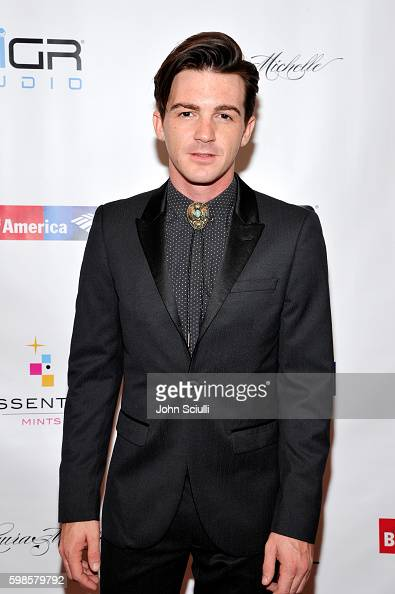 Actor/singer Drake Bell attends the album release party for Laura Michelle's 'Novel With No End' at El Rey Theatre on September 1 2016 in Los Angeles...