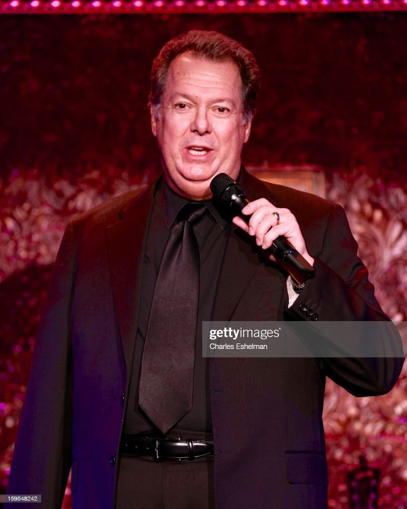 Actor/singer Eric Michael Gillett performs at 54 Below on January 15, 2013 in New York City.