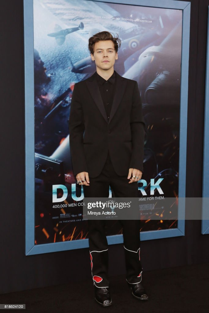 Actor/singer Harry Styles attends the 'DUNKIRK' New York Premiere on July 18, 2017 in New York City.